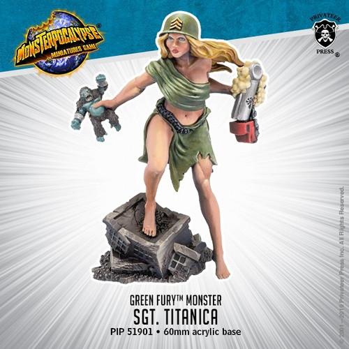 MONPOC Green Fury: Sgt. Titanica (Monster)
