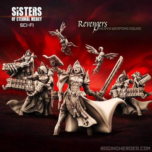 Revengers, Heavy Weapons Squad (SoEM - SF)