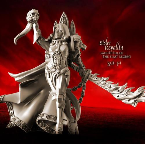 Reyallia, Sanctifier of the First Legion (Sisters - SF)
