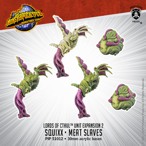 MONPOC Lords of Cthul: Squix & Meat Slave (Unit)