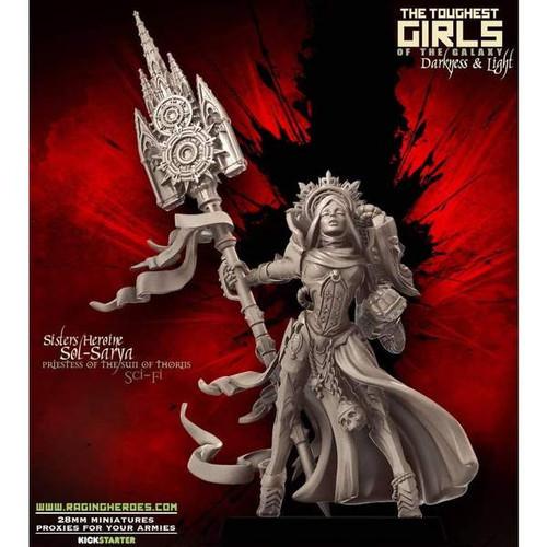 Sol-Sarya, Priestess of the Sun of Thorns (Sisters - SF)