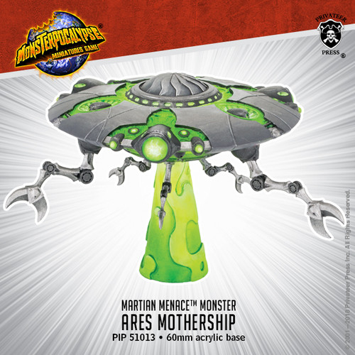 MONPOC Martian Menace: Ares Mothership (Monster )