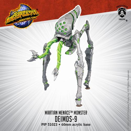 MONPOC Martian Menace: Deimos-9 (Monster)