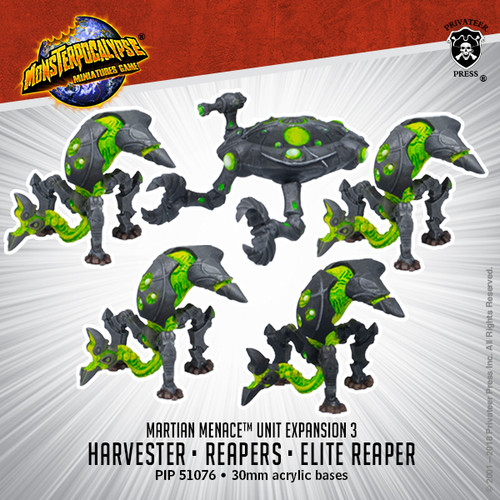 MONPOC Martian Menace: Reapers & Harvester (Units)