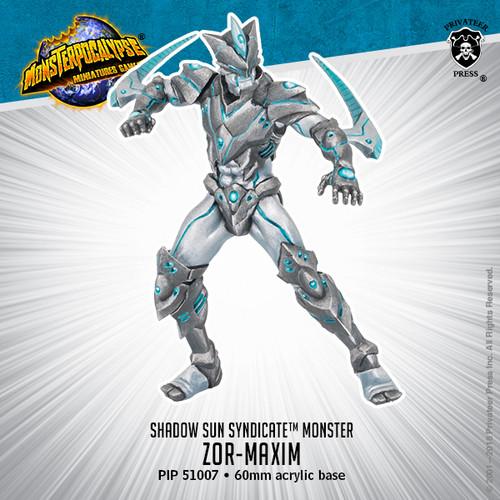 MONPOC Shadow Sun Syndicate Monster: Zor-Maxim (Monster)