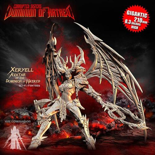Xeryell, AVATAR of the Dominion of Hatred (CS - F/SF)