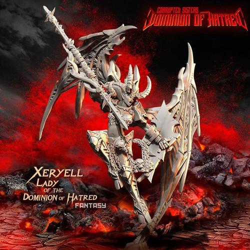 Xeryell, LADY of the Dominion of Hatred (CS - F)