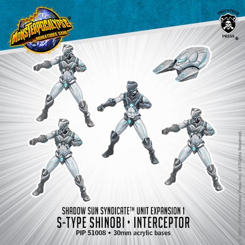 MONPOC Shadow Sun Syndicate: S-Type Shinobi & Interceptor (Unit)
