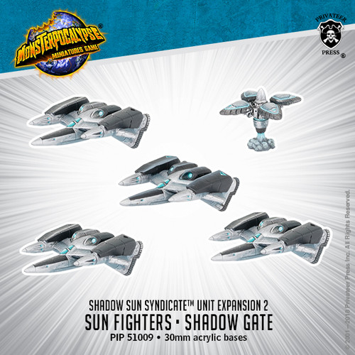 MONPOC Shadow Sun Syndicate: Sun Fighter and Shadow Gate (Unit)