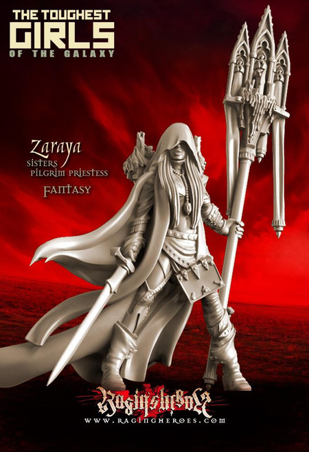 Zaraya, Pilgrim Priestess (Sisters - Fantasy)