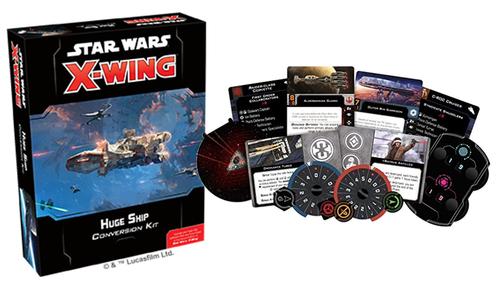 SW X-Wing 2.0: Huge Ship Conversion Kit