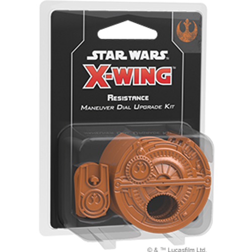 SW X-Wing 2.0: Maneuver Dial  - Resistance