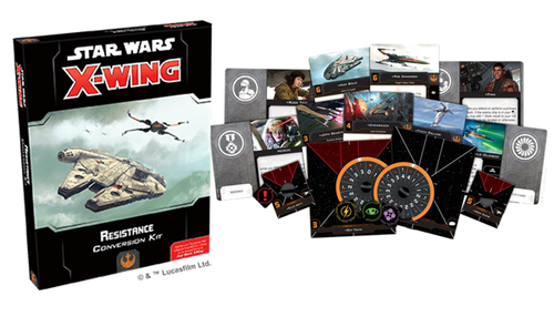 SW X-Wing 2.0: Resistance Conversion Kit