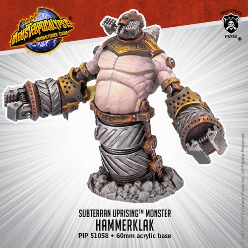 MONPOC Subterran Uprising: Hammerklak (Monster)