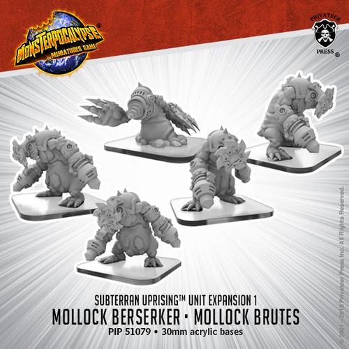MONPOC Subterran Uprising: Mollock Brutes & Mollock Berserker (Unit)