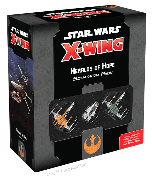 SW X-Wing 2.0: Heralds of Hope Squadron