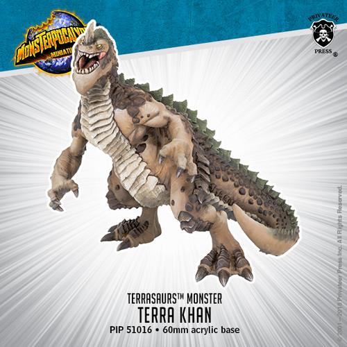 MONPOC Terrasaur: Terra Khan –   Monster (resin)