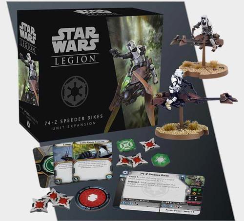 Star Wars Legion: 74-Z SPEEDR BIKES Unit Exp