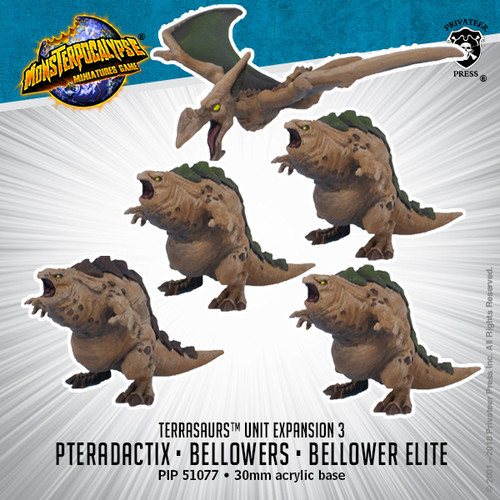 MONPOC Terrasaurs: Bellowers & Pteradactix (Units)