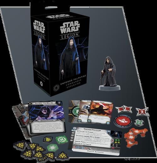 Star Wars Legion: Emperor Palpatine Commander