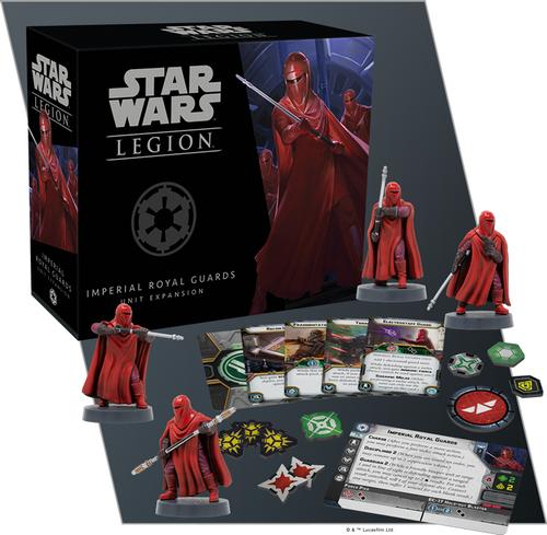 Star Wars Legion: Imperial Royal Guards Unit