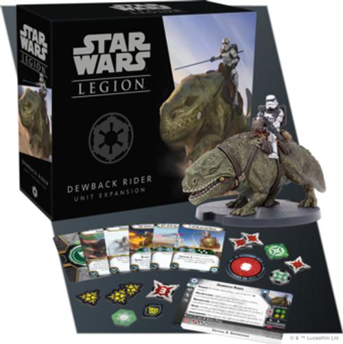 Star Wars Legion: Dewback Rider Unit Exp