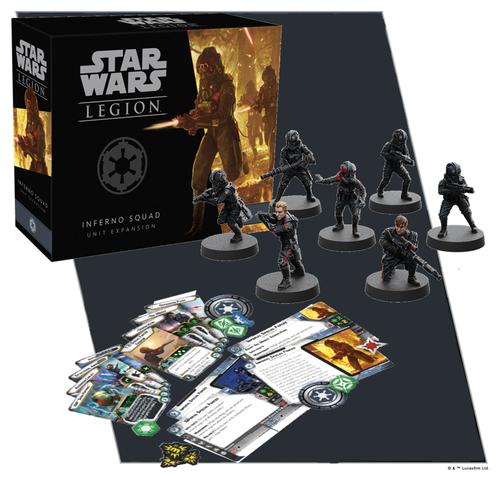 Star Wars Legion: Inferno Squad Unit Exp