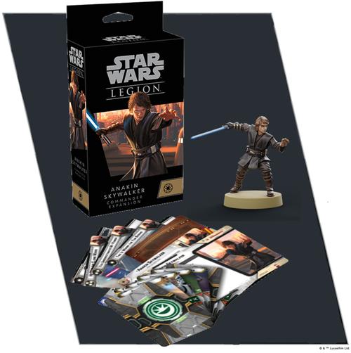Star Wars Legion: Anakin Skywalker Commander Exp