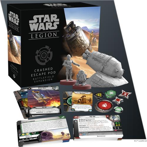 Star Wars Legion: Crashed Escape Pod Battlefield Exp