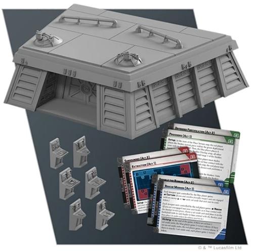 Star Wars Legion: Imperial Bunker Battlefield Exp