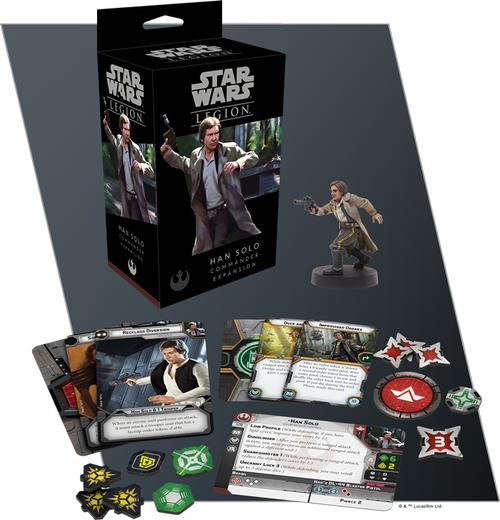 Star Wars Legion: Han Solo Commander Expansion