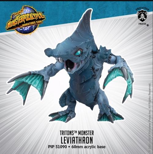 MONPOC Tritons: Leviatrhron (Monster)