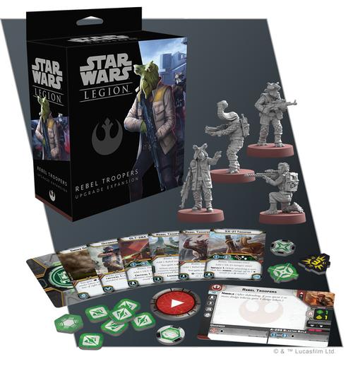 Star Wars Legion: Rebel Troopers Upgrade Exp