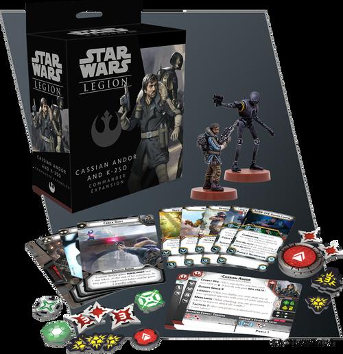 Star Wars Legion: Cassian Andor and K2SO