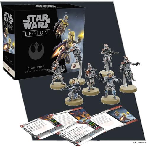 Star Wars Legion: Clan Wren Unit Exp