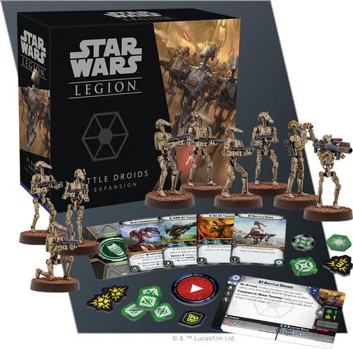 Star Wars Legion: B1 Battle Droids Unit Exp