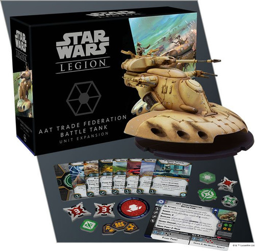 Star Wars Legion: AAT Trade Federation Battle Tank Unit