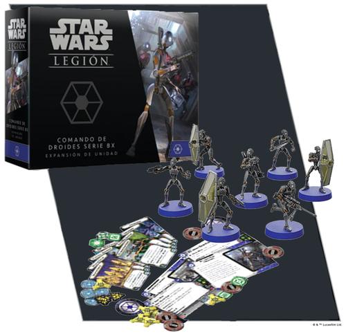 Star Wars Legion: BX-Series Droid Commandos Unit Exp