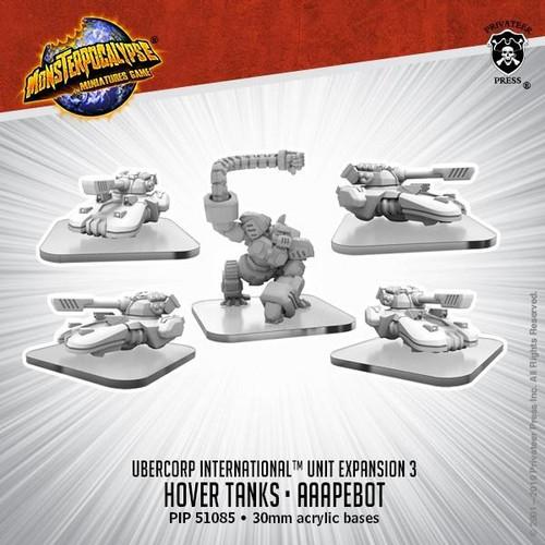 MONPOC UberCorp International: Hover Tanks & Ape Robot (Unit)