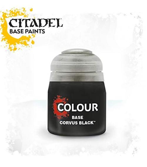 BASE: CORVUS BLACK 12ML