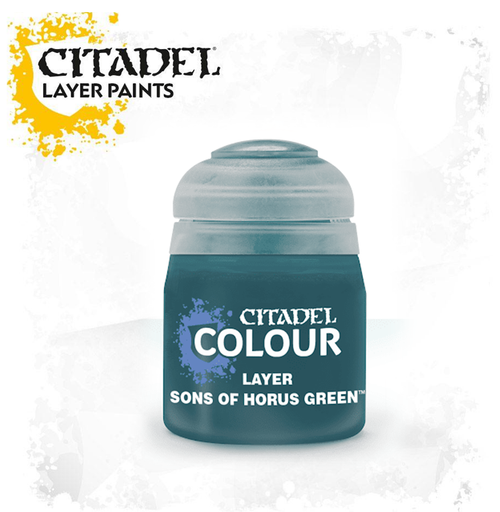 LAYER:  SONS OF HORUS GREEN 12ML