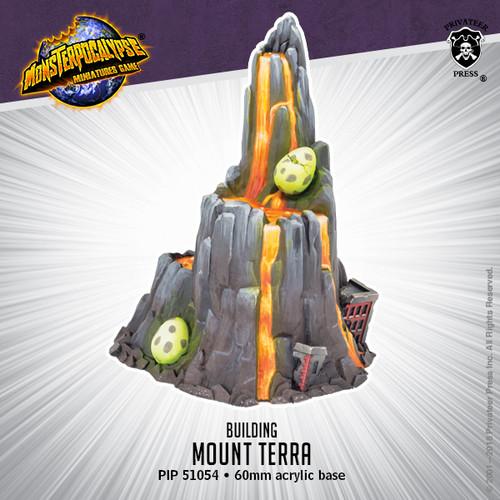 Monsterpocalypse Building: Mount Terra (resin)