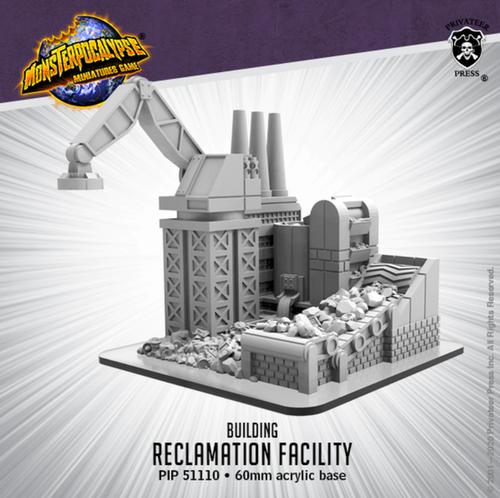 Monsterpocalypse Building: Reclamation Facility (Resin)