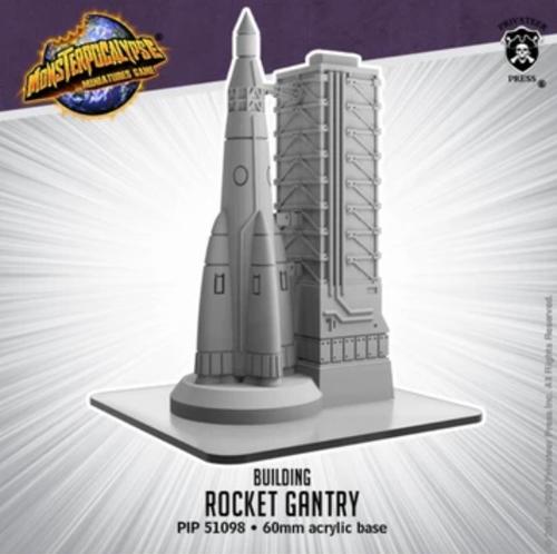 Monsterpocalypse Building: Rocket Gantry (resin)