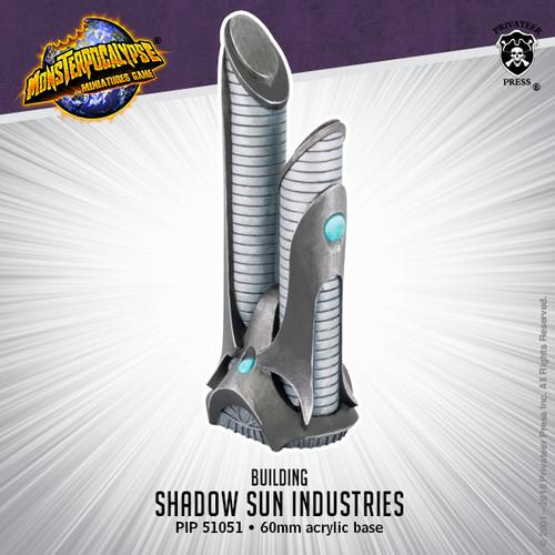 Monsterpocalypse Building: Shadow Sun Industries (resin)