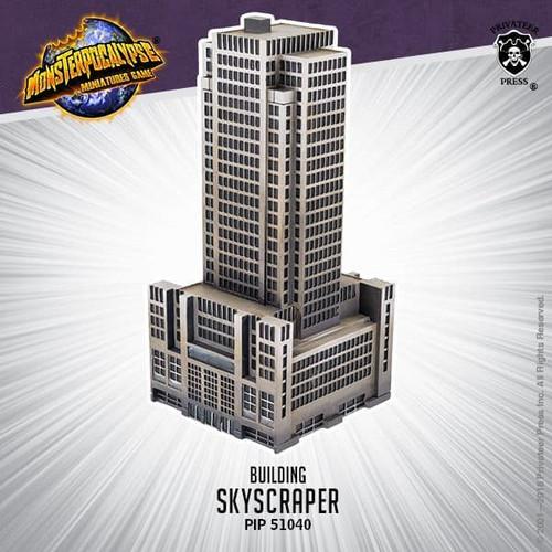 Monsterpocalypse Building: Skyscraper (resin)