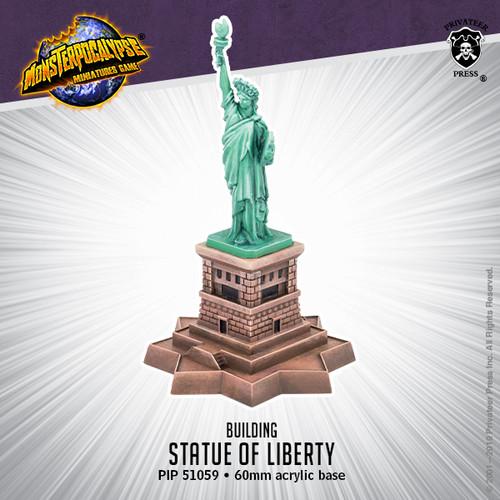 Monsterpocalypse Building: Statue of Liberty –  Building (resin)