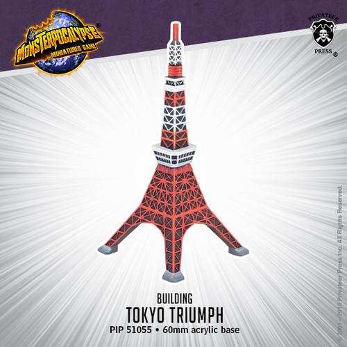Monsterpocalypse Building: Tokyo Triumph (resin)