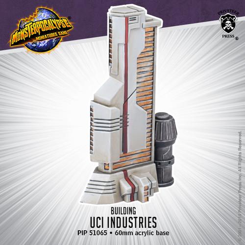 Monsterpocalypse Building: UIC Industries (resin)