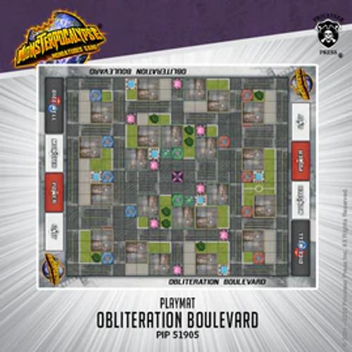 Monsterpocalypse Fabric Playmat: Obliteration Boulevard (Neoprene)